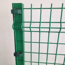2X4 pulgadas galvanizado v pliegues valla de malla soldada de alambre de protección