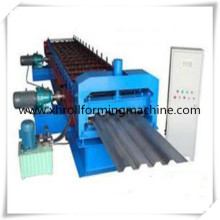 Panel de cubierta de techo rollo formando la azotea de acero coloreado hoja azulejo prensa máquina