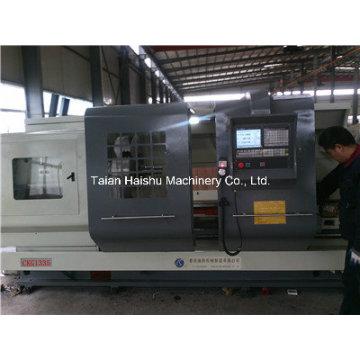 Máquina de roscar Ckg1335A Torno de rosca de tubos CNC y máquina CNC