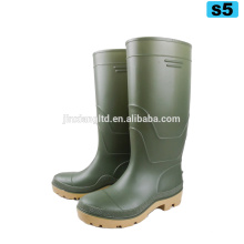 S5 safety boots pvc cheap work boots