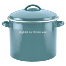 colorful Porcelain Enamel 16 Quart Covered Stock Pot colorful Porcelain Enamel 16 Quart Covered Stock Pot