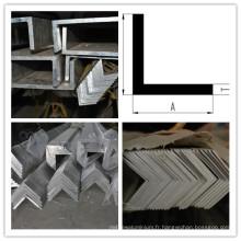 Barre d'angle en aluminium 6063 T5, profil d'angle en aluminium