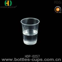 Disposable Custom Printed Clear Milkshake / Smoothie / Juice / Slush Plastic Cup (HDP-0257)