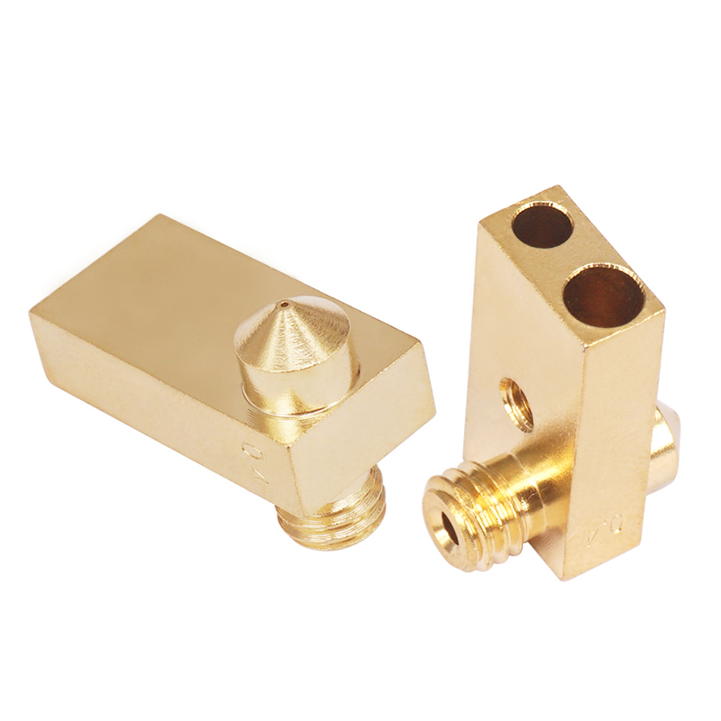 customized high precision cnc milling brass parts