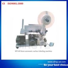 Полуавтоматическая машина этикетирования поверхности