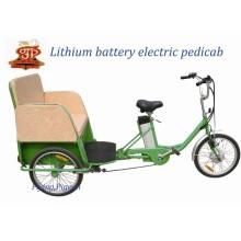 Pedicab elétrico do rickshaw do triciclo da triciclo de três rodas (FP-ETR001)