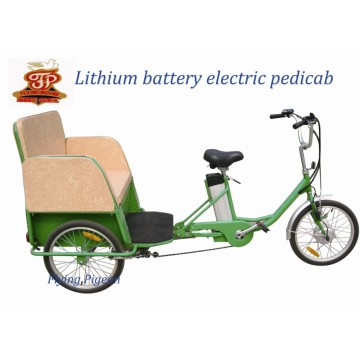 Pedicab eléctrico del carrito del triciclo de tres ruedas (FP-ETR001)