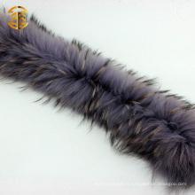 Grossiste Raccoon Fur Trim Collier de fourrure détachable
