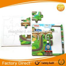 Children magnet puzzle EVA magnet puzzle