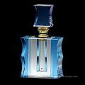 Blue Crystal Clear Perfume Bottle Logo (JD-QSP-383)