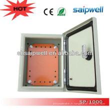 2014 nouvelle conception étanche à l'eau chaude personnalisée NEMA galvanisé boîtiers en acier IP66 600 * 600 * 250 haute qualité