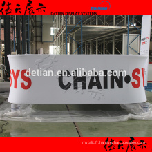 Belle exposition Booth Hanging signe de l'usine de shanghai