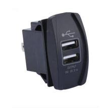 Molde de interruptor automotivo de plástico personalizado para carregador de carro
