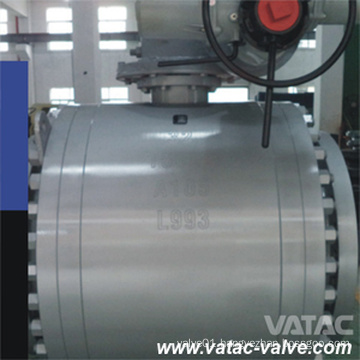 High Pressure Electric Actuator Trunnion Mounted Ball Valve
