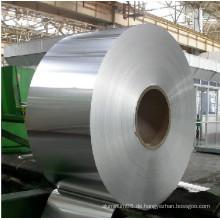 Schmaler Aluminium- oder Aluminiumstreifen für Kabel