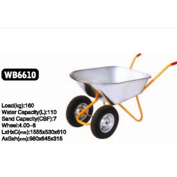 Você precisa de rodas duplas de carrinho de mão WB6610