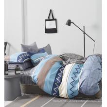 Conjunto de cama com edredom de algodão permeável ao ar para casa