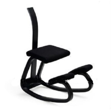 Wooden Ergonomics Kneeling Chair With Backrest