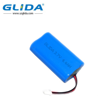 Glida recargable 3.2V 1500mAh IFR18650 litio Lifepo4