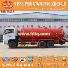 FOTON AUMAN 6x4 20000L sewage vacuum tank truck SC9DK270Q3B1 270hp