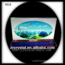 Cristal de foto de impressão colorida Y010