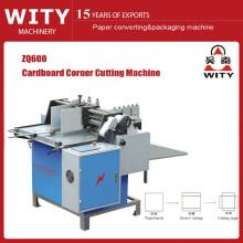 Alimentação manual Caixa de cartão de corte máquina de corte