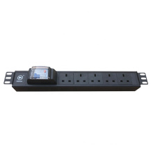 Strong guard 220V UK type PDU power distribution unit with intelligent Leakage Protection circuit breaker