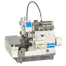 QS-700-4 -BK High speed 4 thread industrial overlock with back stitching Back Latching  industrial sewing machine