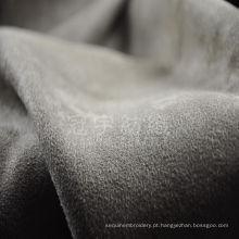 Tecido de sofá em camurça urdida de poliéster