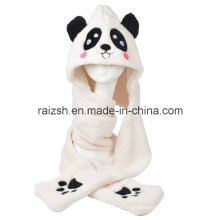 Панда шапки шарфы перчатки из трех частей целое для дам
