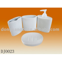 Accessoire de bain en céramique 4pcs