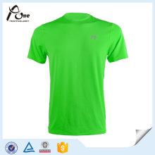 T-Shirt der neuen Modell-Männer Neonfarben-Sport-Abnutzung