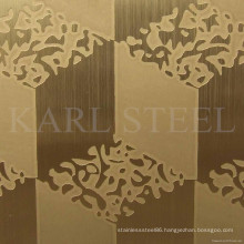 High Quality 304 Stainless Steel Kem002 Embossed Sheet