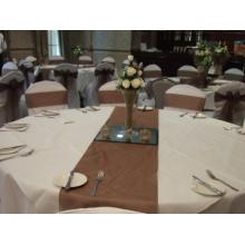 Organza de la boda corredor de la tabla
