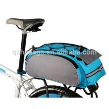 O grande saco traseiro do vestuário do assento da bicicleta, bicicleta leva o saco