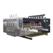 High performance carton box slotting die cutting automatic used flexographic printing machine