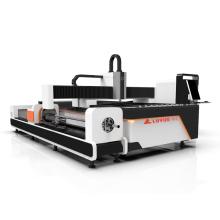 Preço da máquina de corte do laser da fibra do tubo 1000W / tubulação