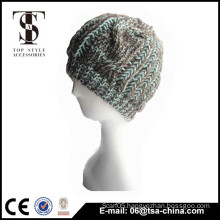 100% Acrylic High quality knitted beanie hat