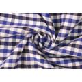Royal/Marine Kontrollen Köper 60 Baumwolle 40 Polyester-Gewebe Shirting
