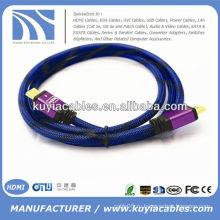 Премиум желтый кабель HDMI-HDMI для HDTV
