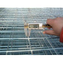 Panel de malla soldada galvanizada ligera