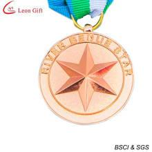 Medalla Souvenir cobre 3D personalizados baratos (LM1256)