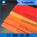 China fabricante de várias cores revestido de pvc encerado usado para caminhão ou tendem ou outro lugar