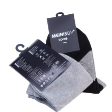 Custom Printing Brand Name Logo Paper Packaging Sock Label