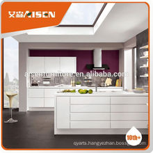 Reasonable & acceptable price factory directly orange color kitchen cabinets