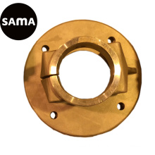 Customized Investment Lost Wax Casting for Flange with Stainless Steel