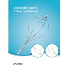Cesta de extracção de cálculos biliares duodenoscópio CPRE