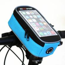 Bolsa de bicicleta para la bicicleta 5.5inch móvil
