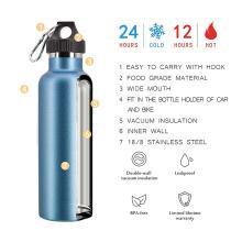 Loop Hook Easy To Carry Double Wall Vacuum Stainless Steel Water Bottle