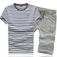 2016 Vollständige heiße Verkaufs-Streifen-Männer Sportswear (XY205)